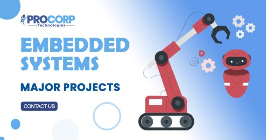 Latest List for ECE 2021 Embedded Systems Major Projects